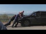 Как проехать в Крым на автомобиле. Очередь на паром