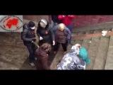 порция ПИЗДЫ правому сектору Харьков 13.04.14 (другая камера)